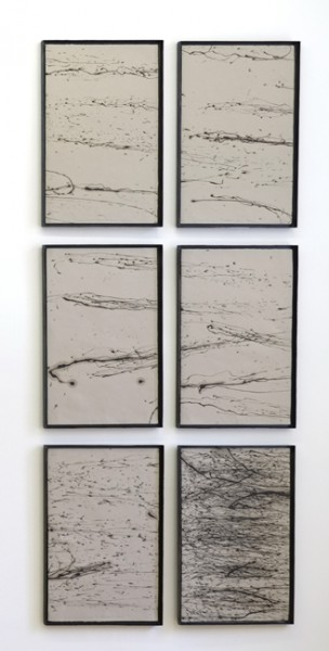 Jakob Gasteiger, untitled, 2014, oil on paper, each 58,5x39 cm