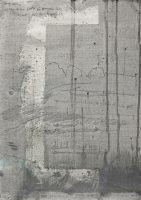 Wiebke Kapitzky, untitled, 2011, acrylic, pen, dispersion adhesive on paper, 41,9 x 29,4 cm