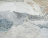 Liliane Tomasko, Towels (Light Blue), 2003, oil on canvas, 93x113 cm