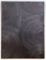 Jakob Gasteiger - 2.4.2011 - 2011, acrylic and copper on canvas 200 x 150 cm